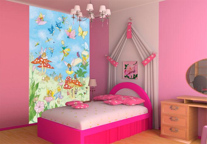 fototapete papiertapete fairy tales wall. Black Bedroom Furniture Sets. Home Design Ideas