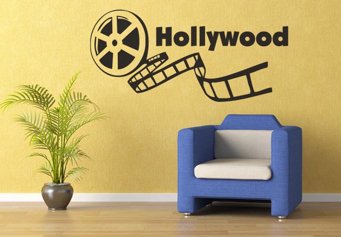 Hollywood 2 Wall sticker