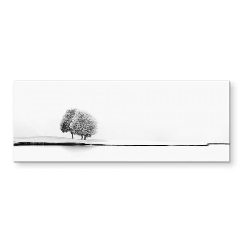 Stampa su acrilicoHuybighs - Un momento tranquillo - panoramica