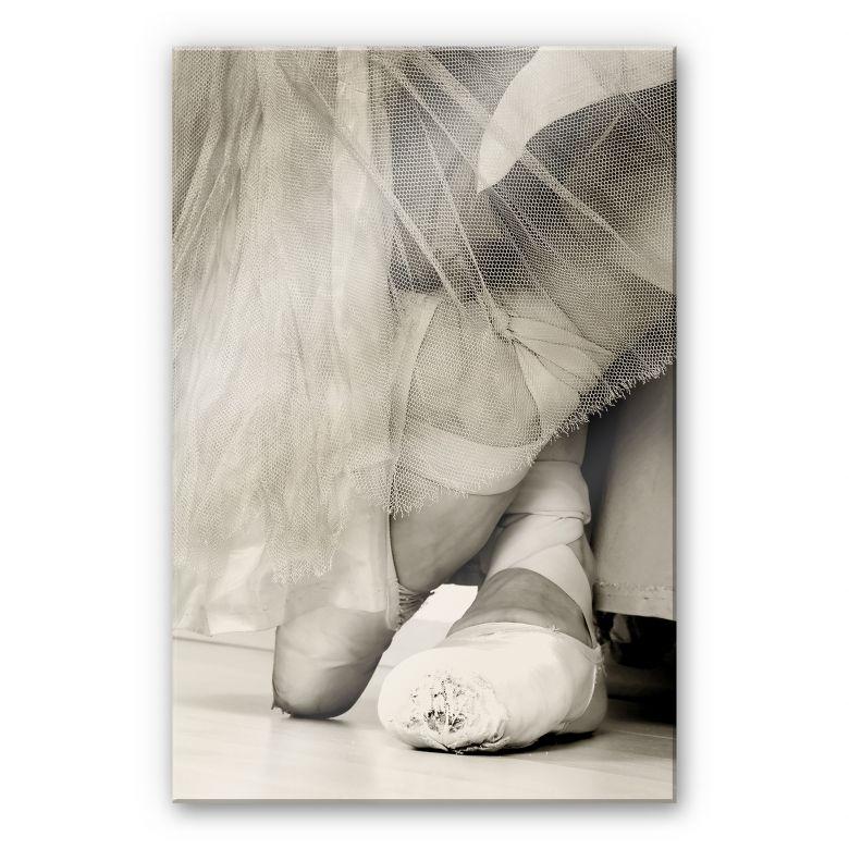 Acrylglasbild Ballerina