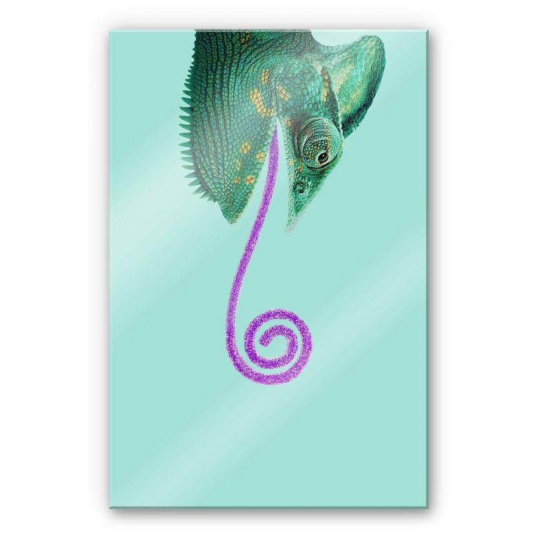 Acrylglasbild Loose - Candy Chameleon