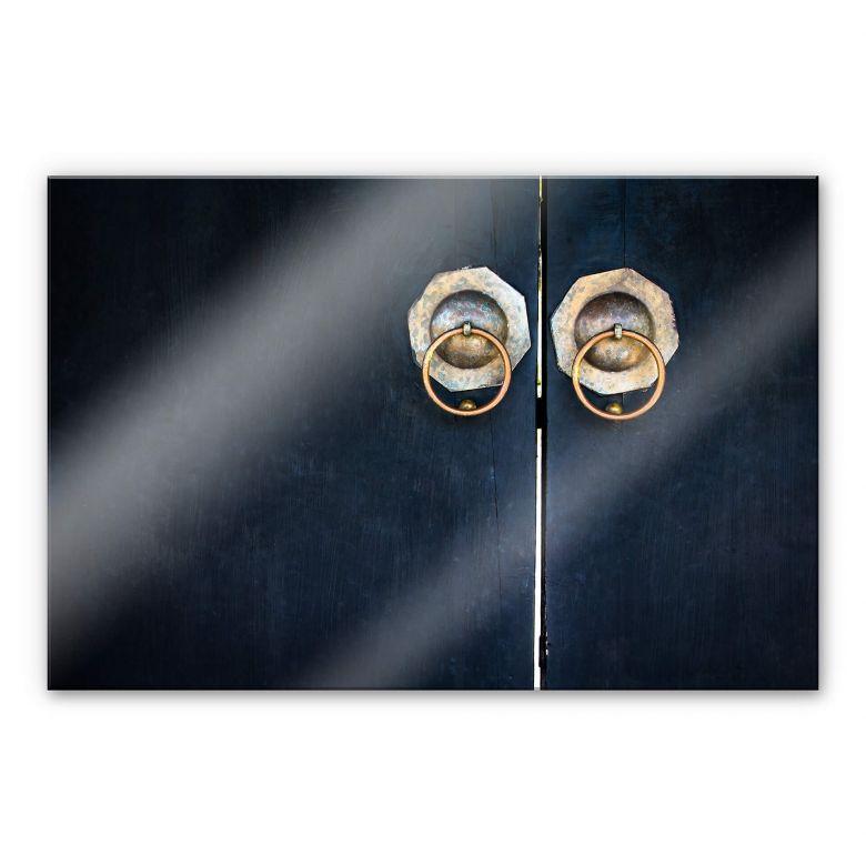 Acrylglasbild - Porta 01