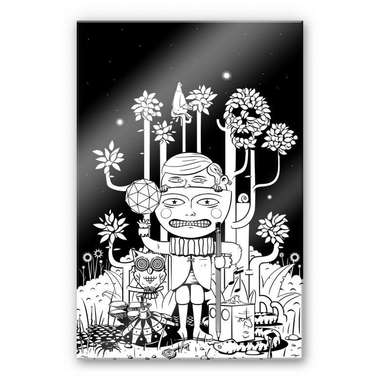 Acrylglasbild Drawstore - In the Woods