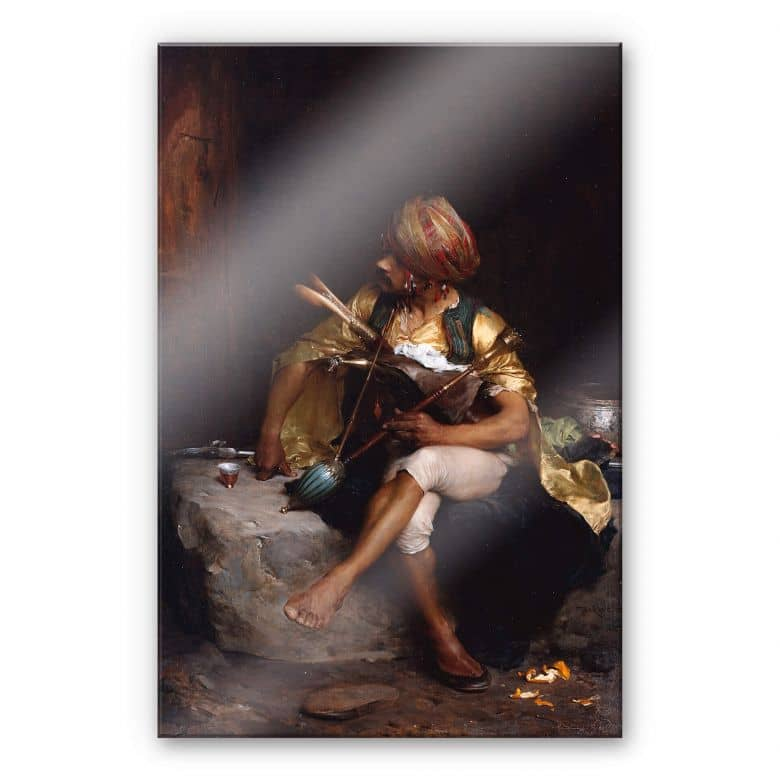 Acrylglasbild Bargue - Ein Bashi Bazouk