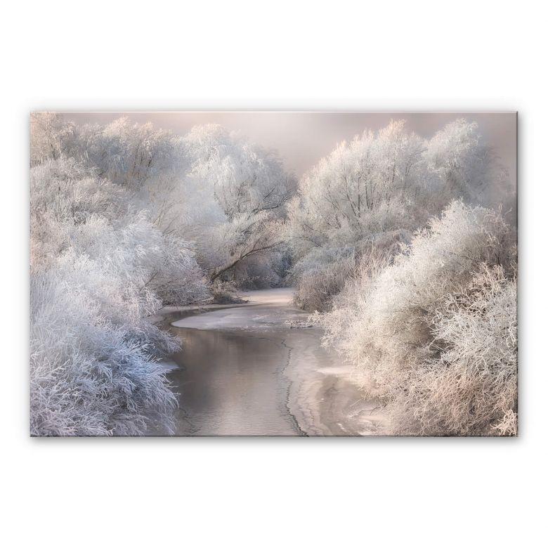 Acrylic glass Bela - Winter Landscape