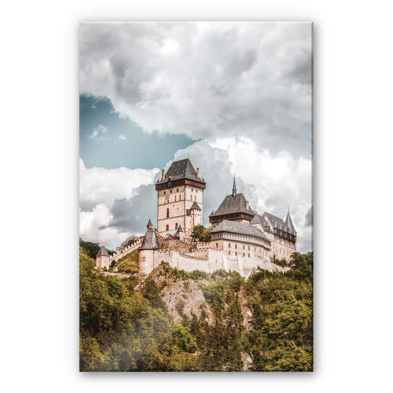 Acrylglasbild Burg Karlstein