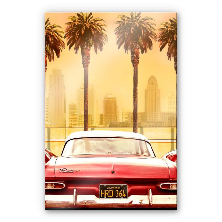 Acrylglasbild Butterworth - Oldtimer in Los Angeles