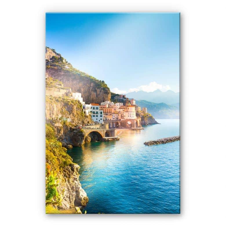 Acrylglasbild Campania in Italien