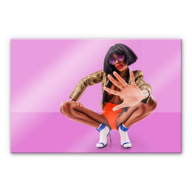 Acrylglasbild Carvalho - Disco Glamour: Push it