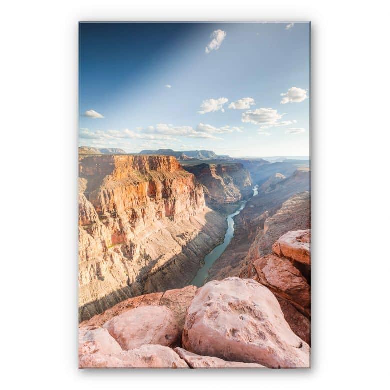 Acrylglasbild Colombo - Colorado River im Grand Canyon