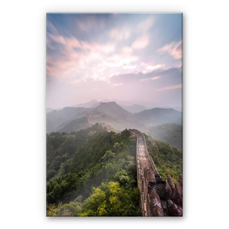 Acrylglasbild Colombo - Die Chinesische Mauer