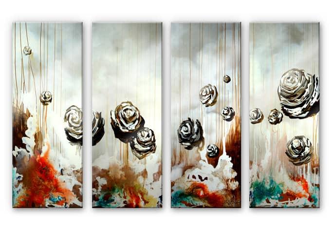 Acrylic Glass Fedrau Paradisiacal 4 Piece Wall Art Com