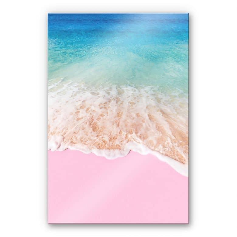 Stampa su acrilico Fuentes – Sabbia rosa