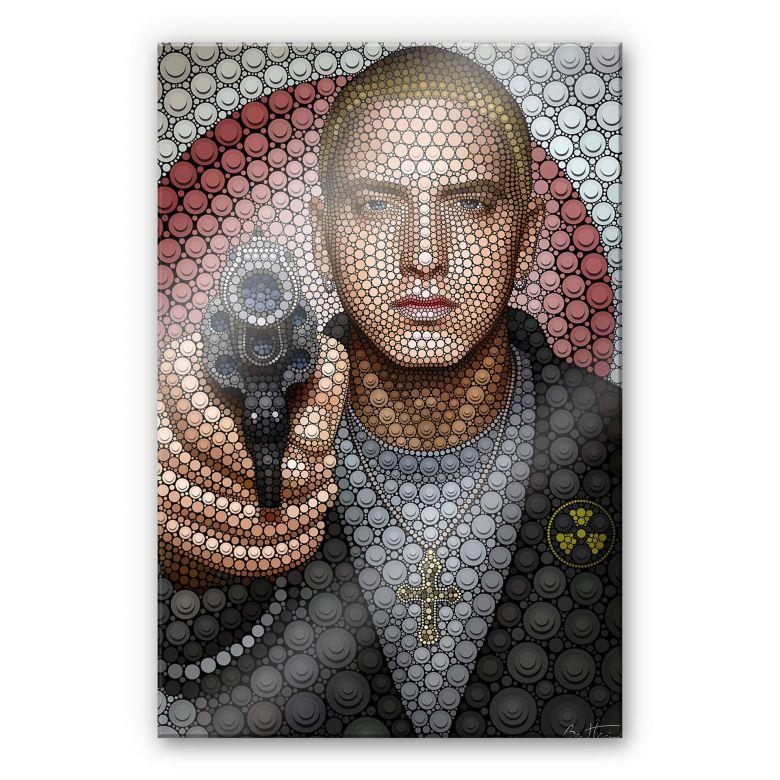Acrylglas Ben Heine - Circlism: Eminem