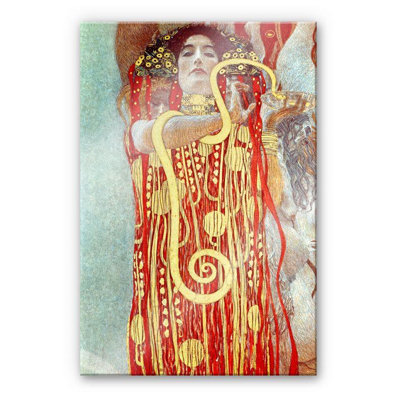 Acrylglasbild Klimt - Hygieia