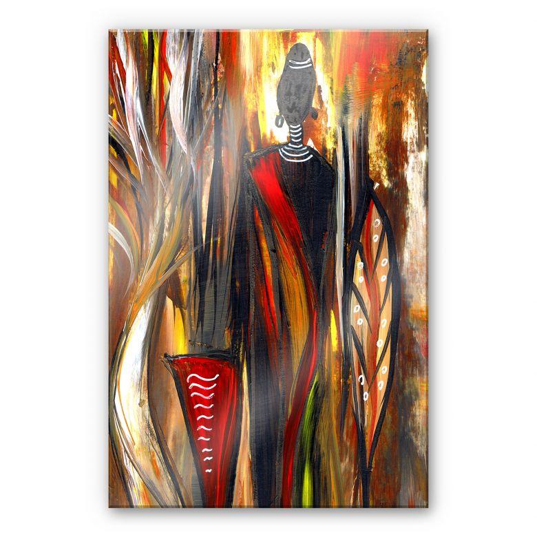 Acrylglasbild Niksic - Art of Africa 02