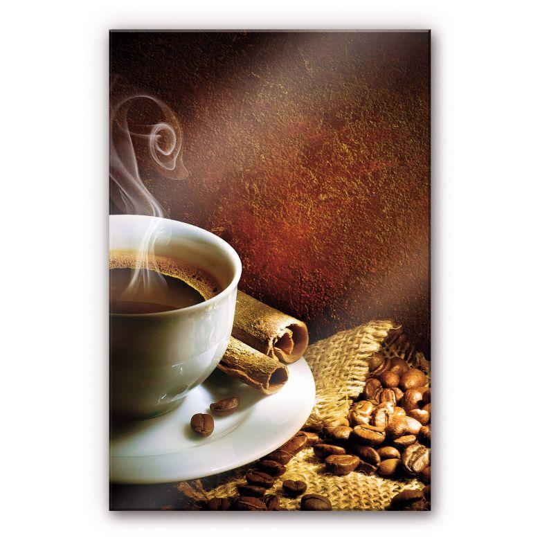 Acrylglasbild Coffee 1