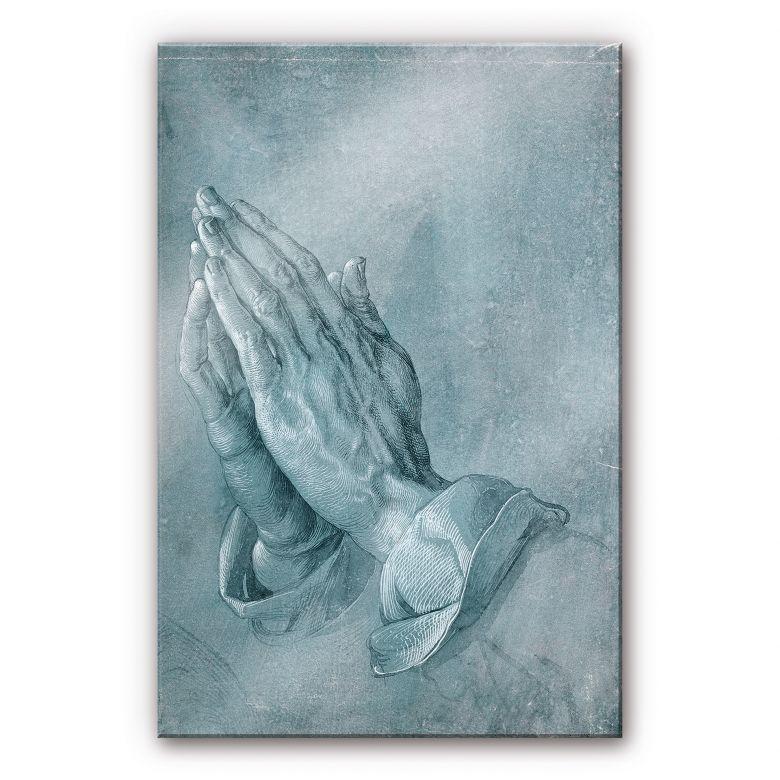 Acrylglasbild Dürer - Studie zu Betende Hände