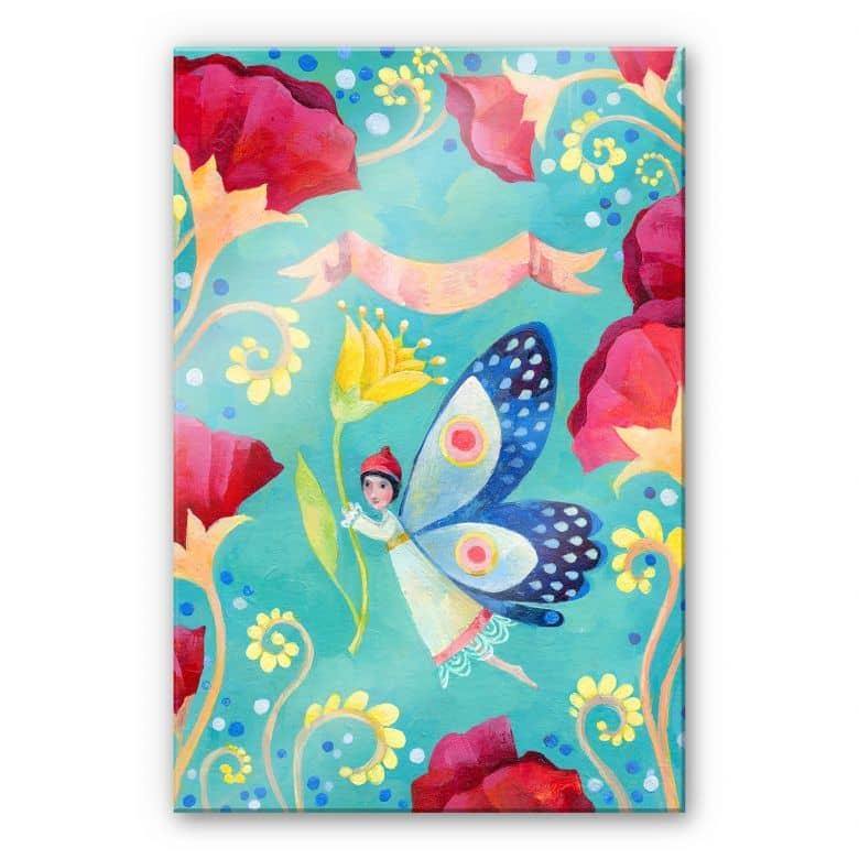Acrylglasbild Blanz - Schmetterling