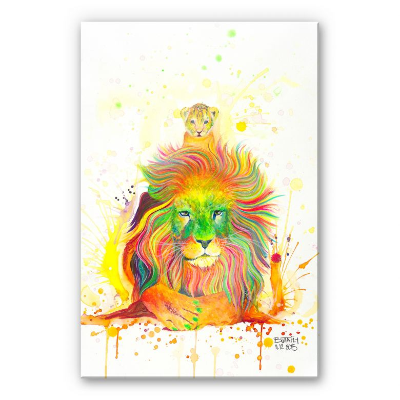 Acrylglasbild Buttafly - A Kings Pride