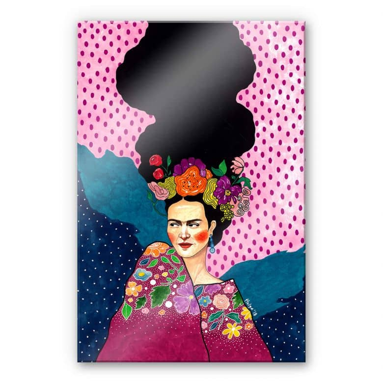 Stampa su acrilico Hülya - Frida