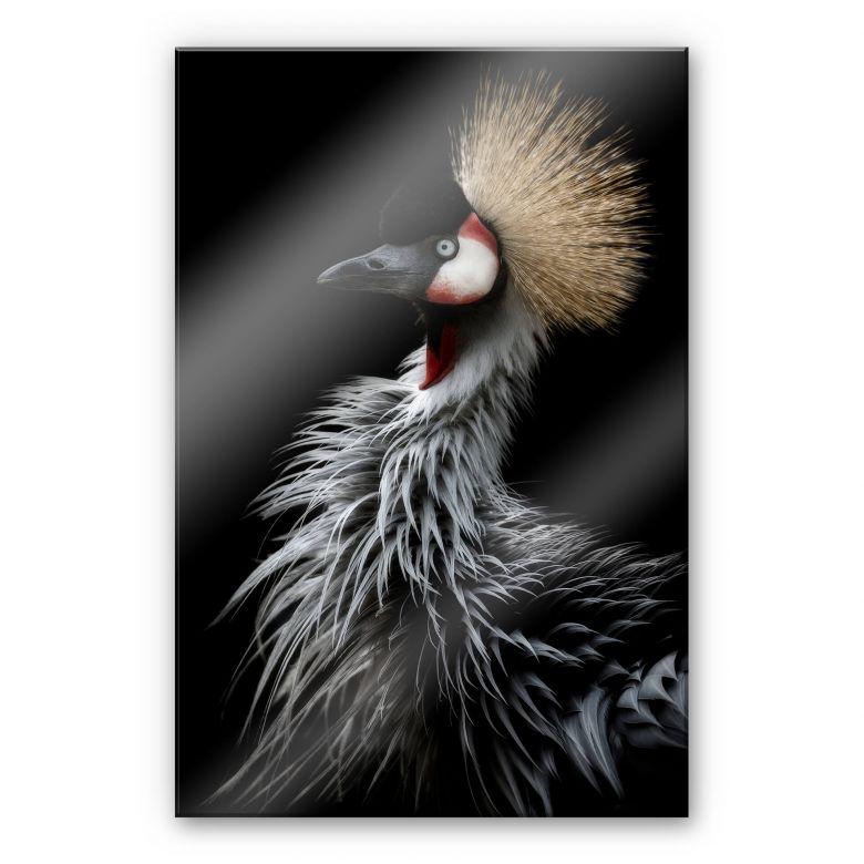 Acrylglasbild Itoyama - Der Kranich