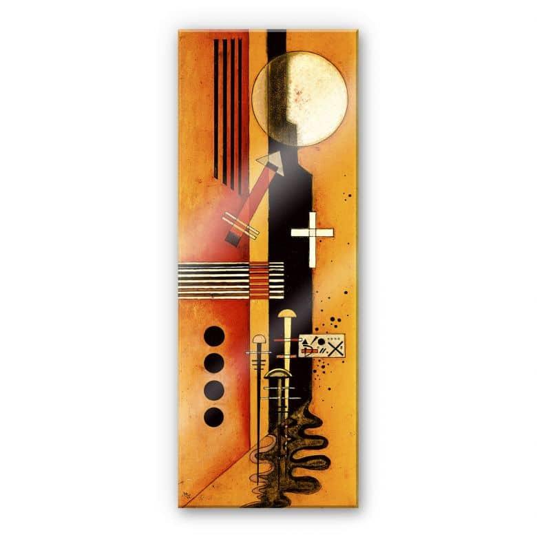 Acrylglasbild Kandinsky - Zum Rosa