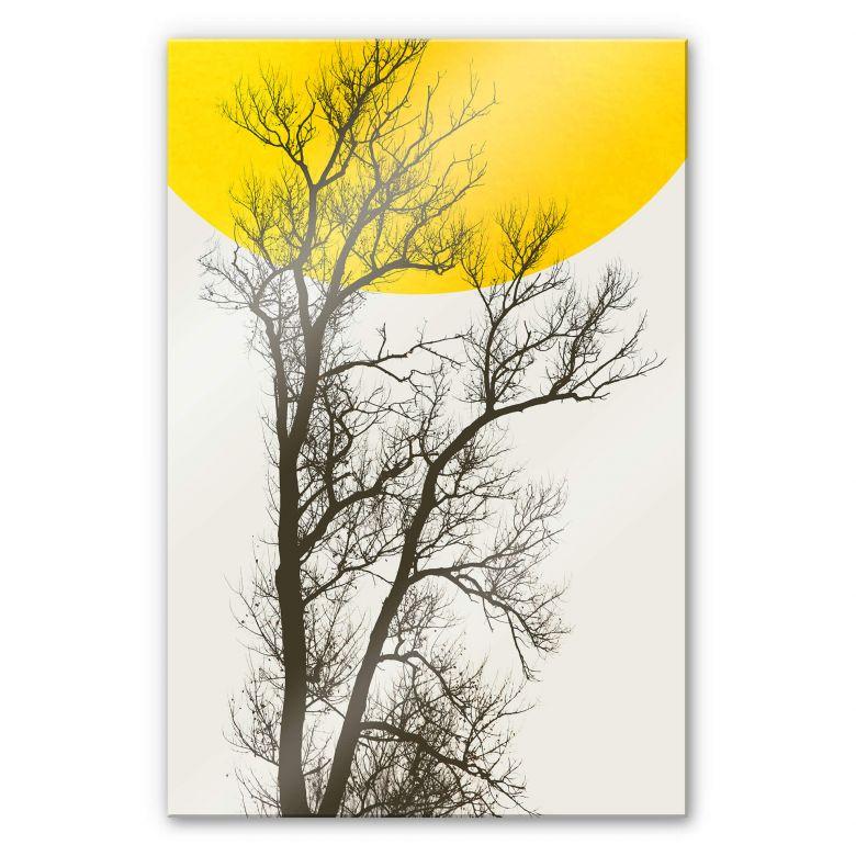 Acrylglasbild Kubistika - Herbst-Erinnerungen