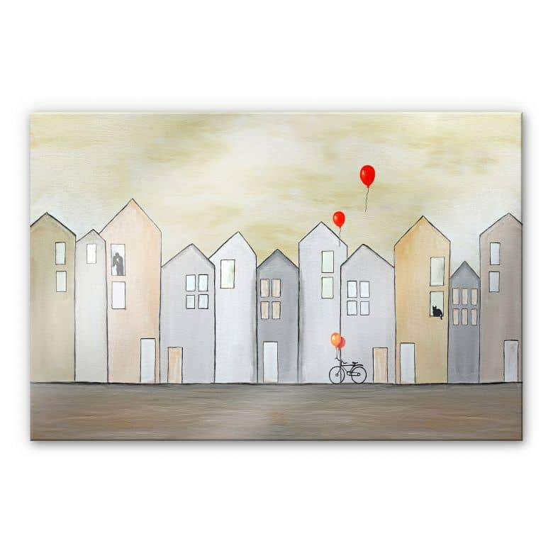 Acrylglasbild Melz - Streetlife
