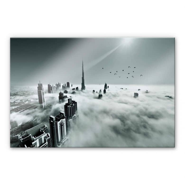 Acrylglasbild Naufal - Wolkenstadt