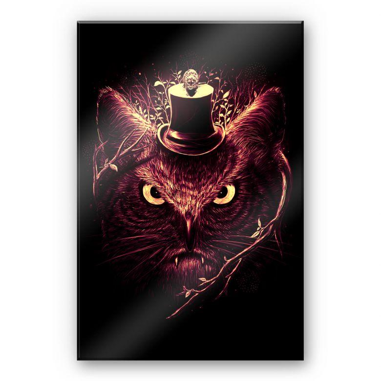 Acrylglasbild Nicebleed - Meowl