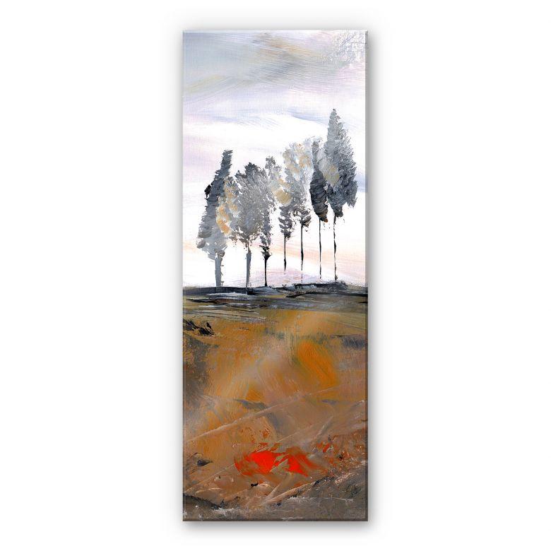 Acrylic glass Niksic - Tree Avenue - Panorama