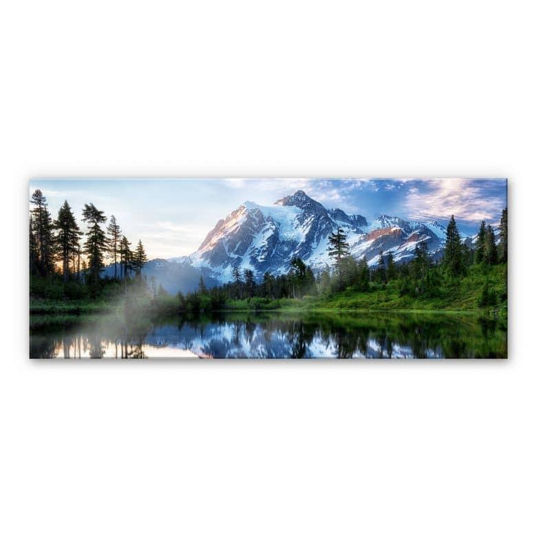 Acrylglas Papp - Mountain Wilderness
