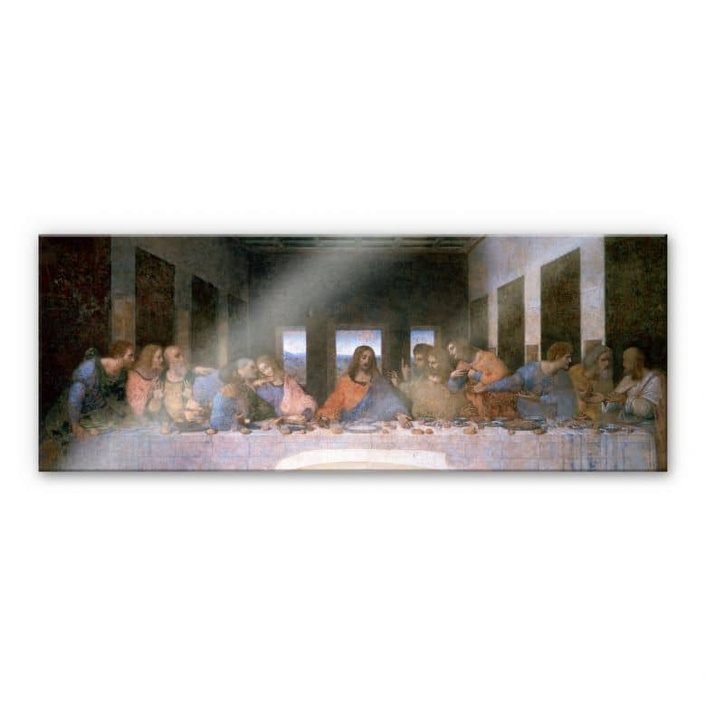 da Vinci - Last Supper - Panorama Acrylic Glass