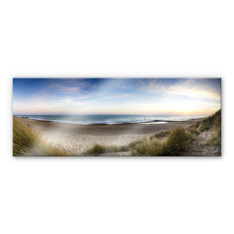 Beach Panorama XXL Wall picture