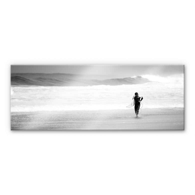 Acrylglasbild Surfing
