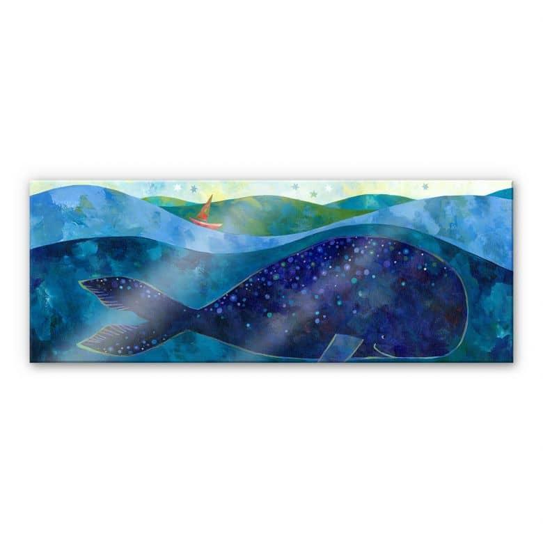Acrylglasbild Blanz - Der Walfisch