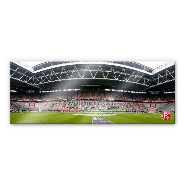 XXL Wandbild Fortuna Düsseldorf Stadion Innenaufnahme