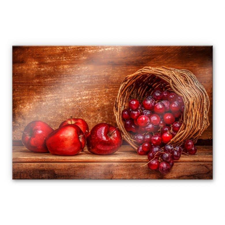 Acrylglasbild Perfoncio - Rote Früchte