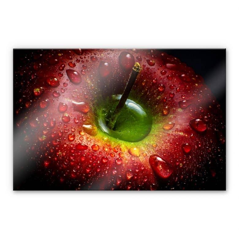 Acrylglasbild Ianeva - Roter Apfel
