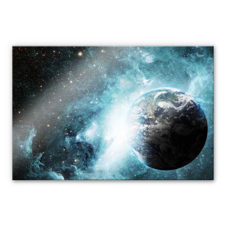 Acrylglasbild In einer fernen Galaxie