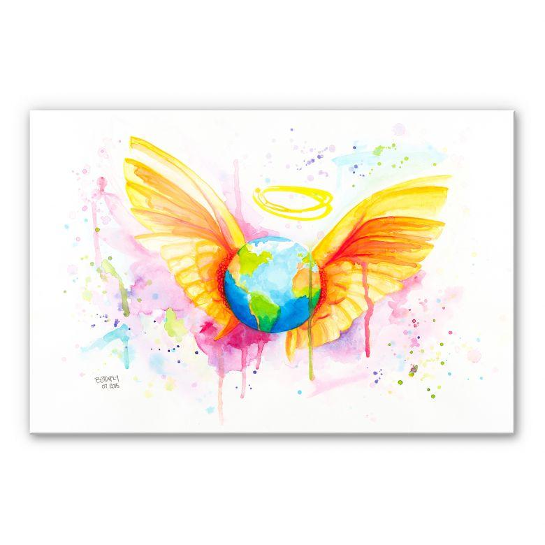 Acrylglasbild Buttafly - Angel