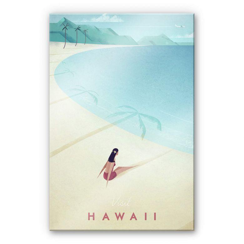 Acrylglasbild Rivers - Hawaii