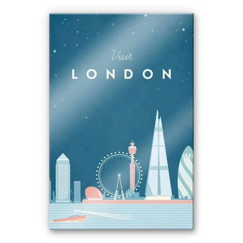 Acrylglasbild Rivers - London