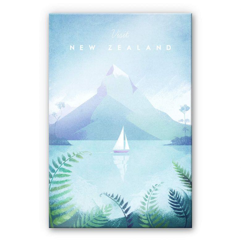 Acrylglasbild Rivers - Neuseeland