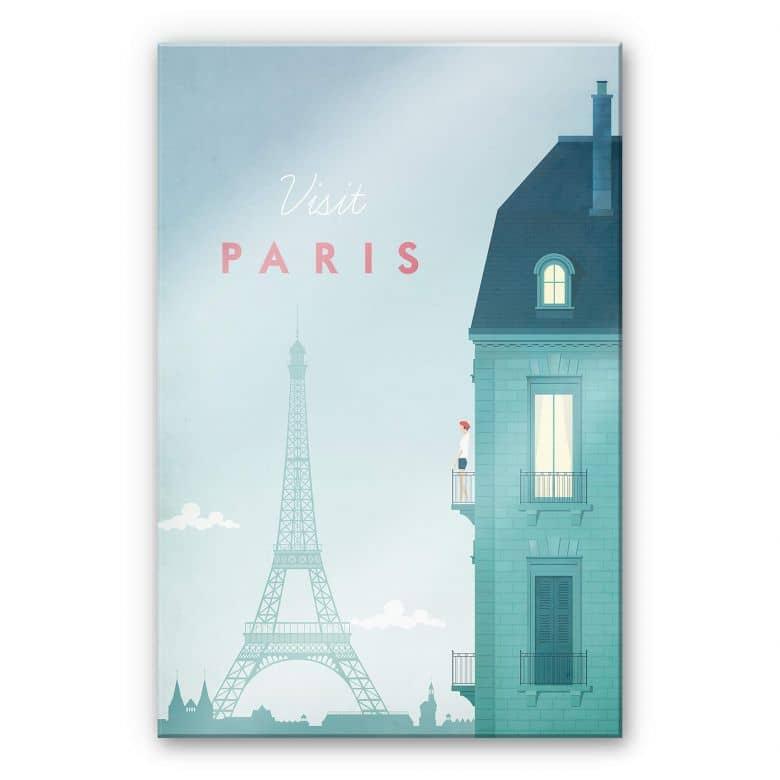 Acrylglasbild Rivers - Paris