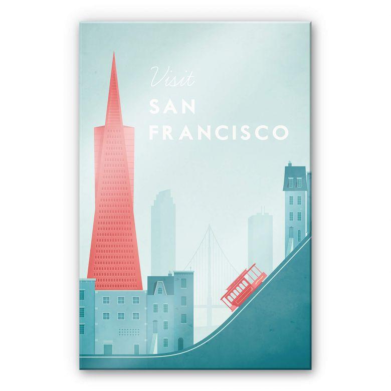 Acrylglasbild Rivers - San Francisco