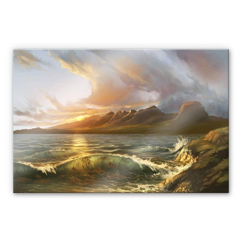 Acrylglasbild aerroscape - England: Seven Sisters