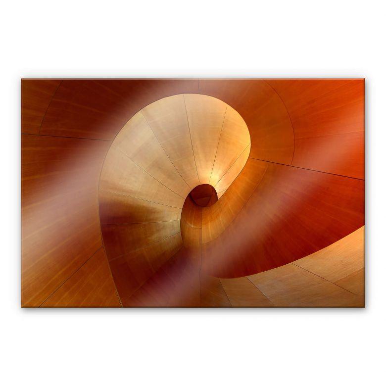 Acrylglasbild Shainidze - The Curve