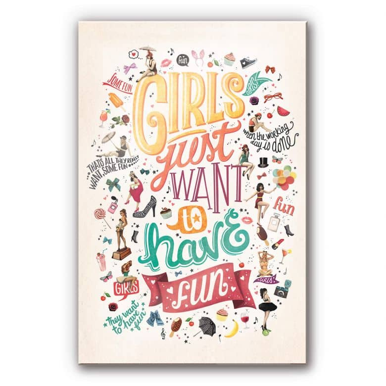 Acrylic Print Tohmé - Girls just wanna have fun